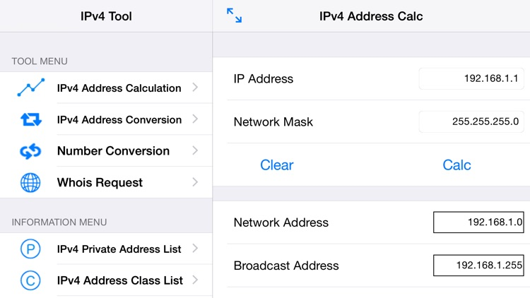 IPv4Tool screenshot-2