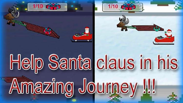 Santa Claus Christmas Gift Joyride (an xmas sleigh game)