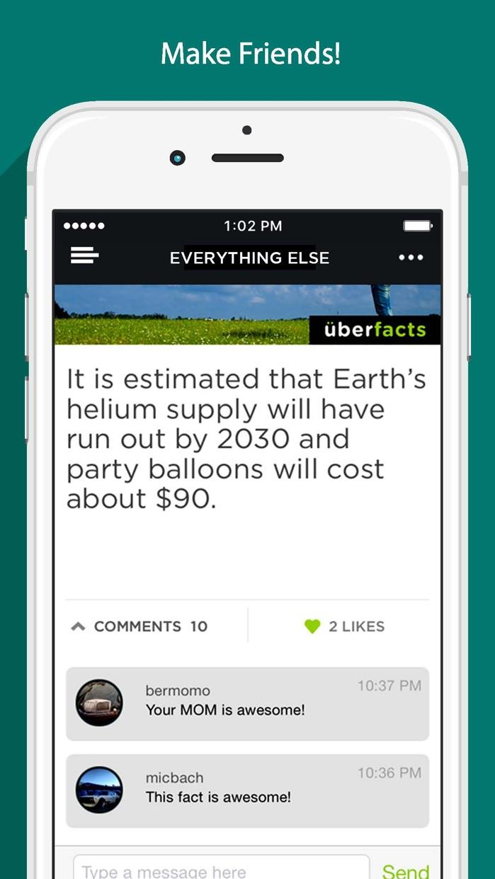 UberFacts Screenshot