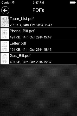 Screenshot of Scan2PDF Mobile Lite