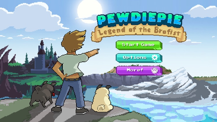 PewDiePie: Legend of the Brofist screenshot-0