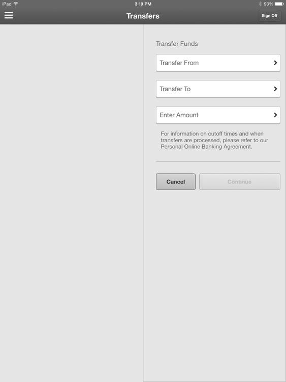 SeacoastBank Personal Banking for iPad