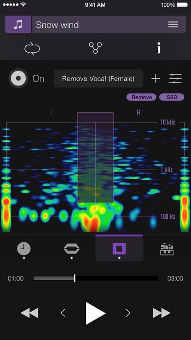 PSOFT Audio Player Screenshots