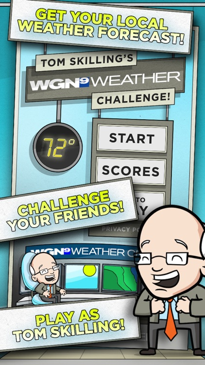 Tom Skilling's WGN Weather Challenge screenshot-3