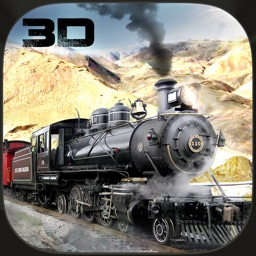 Steam Engine Mountain Cargo Train Simulator