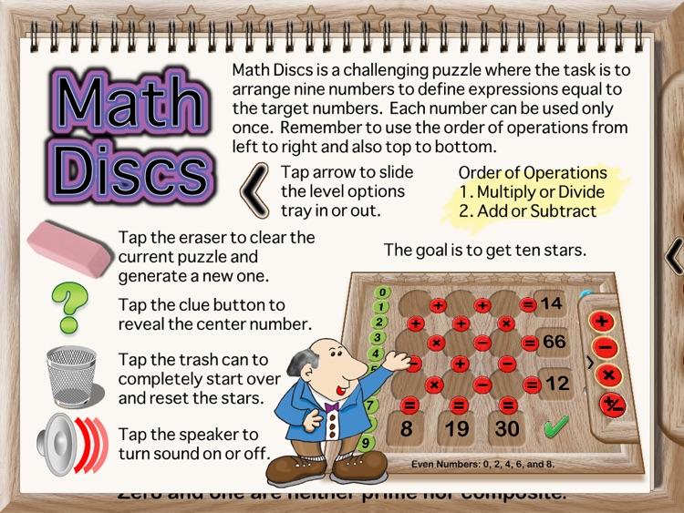 Math Discs screenshot-4