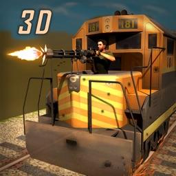 Army War Train Simulator 3D