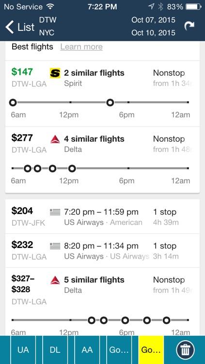 Detroit Airport Pro (DTW) Flight Tracker Wayne County screenshot-4
