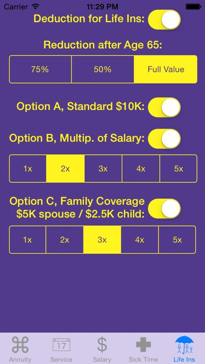 FedCalc FERS and CSRS Annuity Calculator screenshot-4