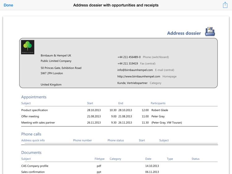 CAS genesisWorld x6 for iPad screenshot-4