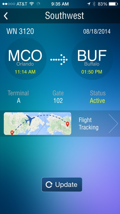 Buffalo Airport - Flight Tracker Premium screenshot-2