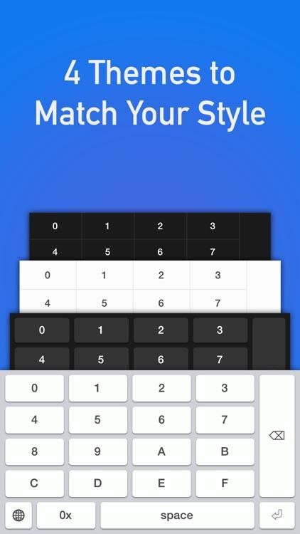 Hexadecimal Keyboard