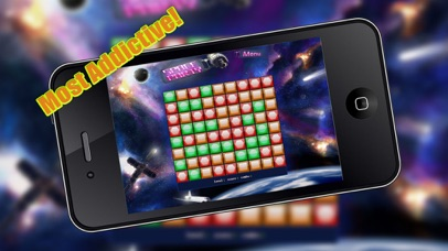 Space party - clear the blocks screenshot one