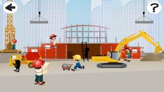 Kinder-Spiel mit Bau-stellen-Autos: die erste Puzzle App für mein BabyScreenshot von 1