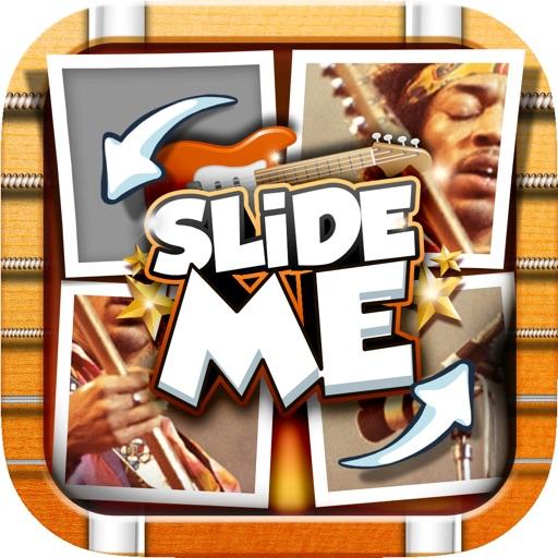 Slide Me Puzzle : Guitarist Tiles Quiz Picture Games | iPhone & iPad