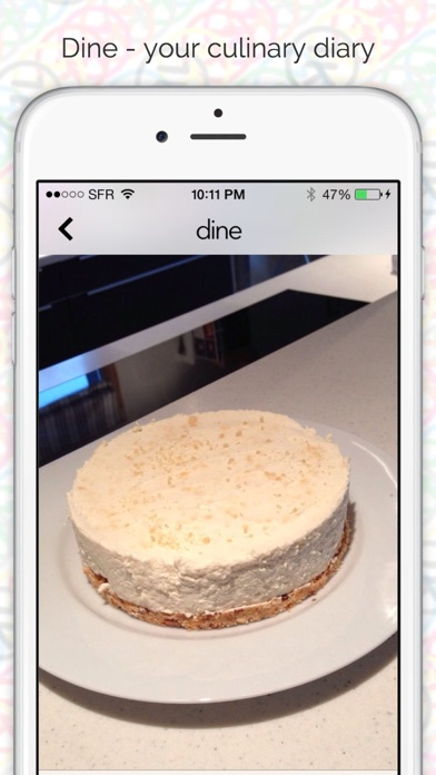 Screenshot for Dine - your culinary diary in Azerbaijan App Store