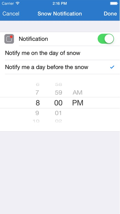 Will it Snow? - Snow condition and weather forecast alerts and notification screenshot-4