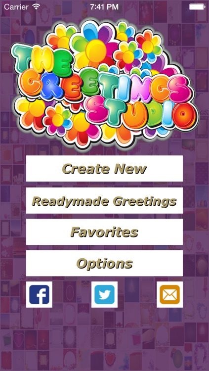 The Greetings Studio- Creative Greeting Cards Making App screenshot-1