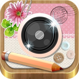 InstaDeco - Sticker, PicFrame, Collage and Text for Instagram, Purikura FREE