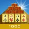 ピラミッド 1000 - ソリティアの簡単ゲーム