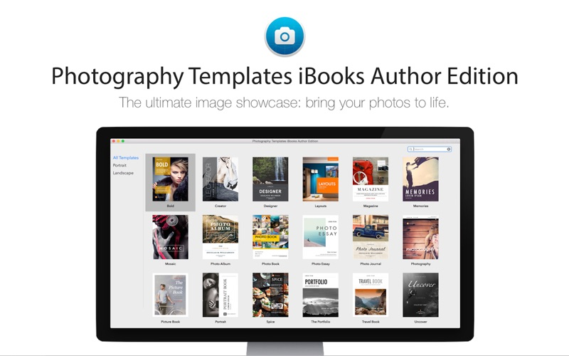 Photography Templates iBooks Author Edition | App Price Drops