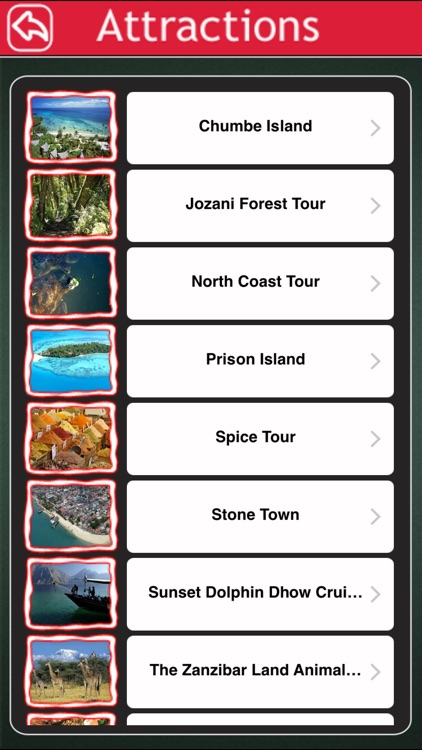 Zanzibar Island Offline Map Tourism Guide
