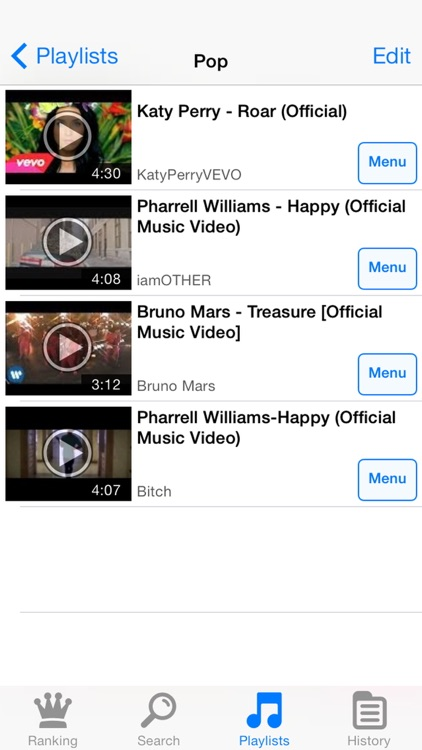 Video Clip - Play Music for YouTube screenshot-3