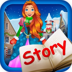 My Own Little Interactive Snow Princess Story Book Game Free App