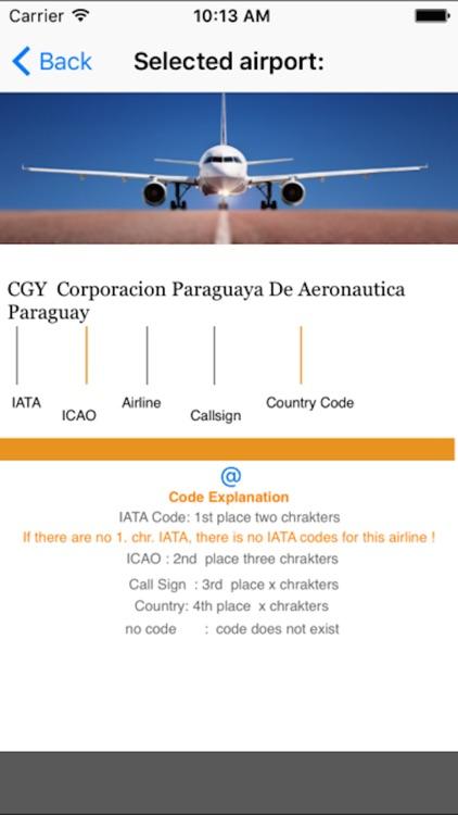 flight codes airline by Tobias Werner