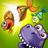 A Dinosaur Park Fish Frenzy FREE - Jurassic Pet Dino Zoo Fishing Game