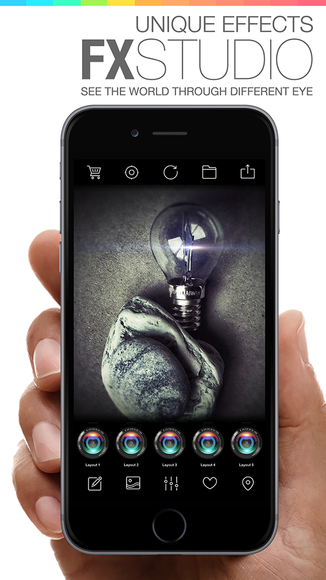 FX Studio 8 Plus - Photo Editor and Camera Filters Effects for iPhone & iPad screenshot four
