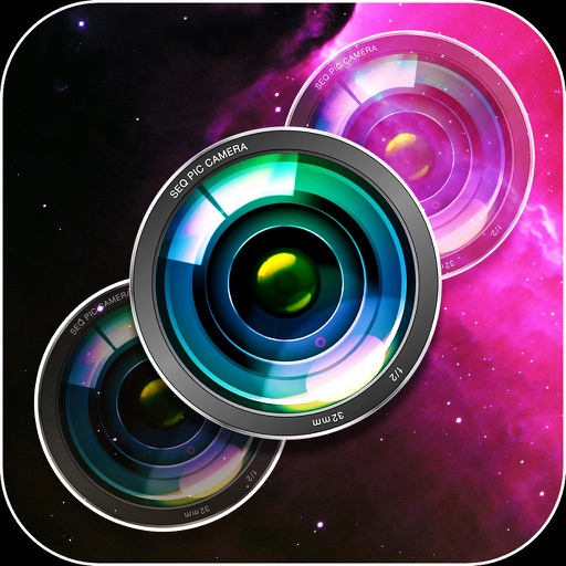 Seq Pic - Blends & Edits Sequence of Photos: Terrific filters Phenomenal backgrounds Multiple eraser functions iOS App