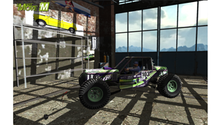 4x4 Offroad Trial Winter Racing screenshot three