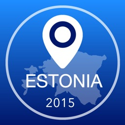 Estonia Offline Map + City Guide Navigator, Attractions and Transports
