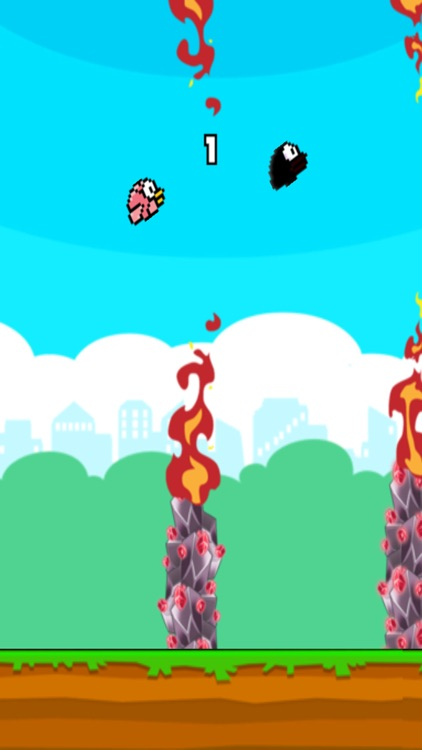Flappy 3 Players Colorful screenshot-3