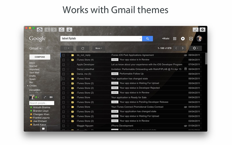 Go for Gmail Screenshot