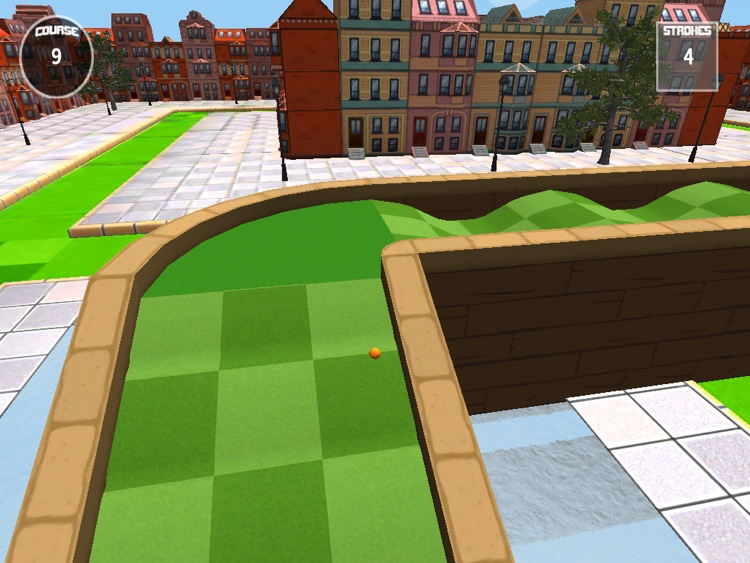 Micro City Golf - for the iPad screenshot-1