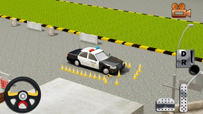 Real Cop Car Parking Simulator – City Police Truck SUV Driving Test Run 3D Game 4