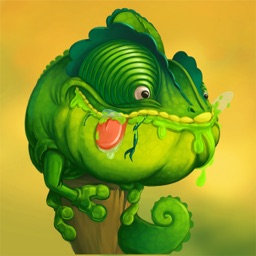Tong the chameleon