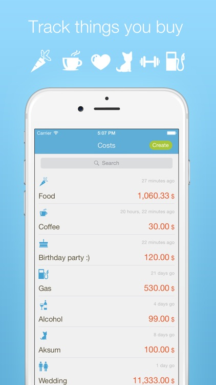 Exes - Expenses tracker & daily, weekly, monthly personal finances planner