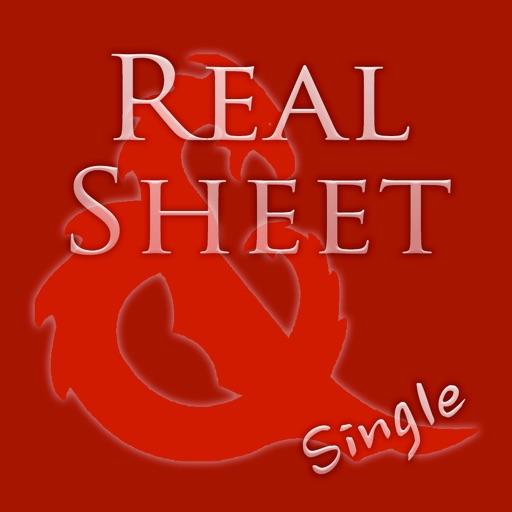 Real Sheet: D&D 5th Edition + Dice Table iOS App