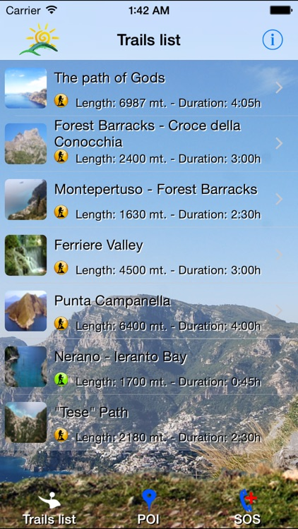 Positano Trekking screenshot-1