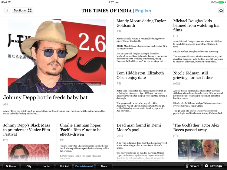 The Times of India for iPad screenshot-3