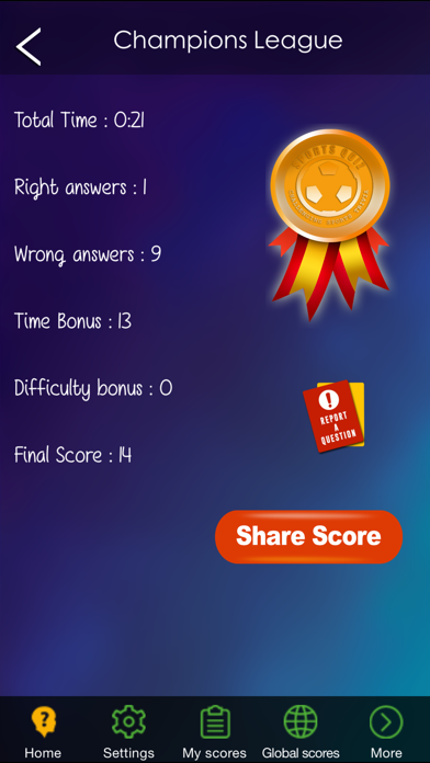 Sports Quiz - Challenging Sports Trivia screenshot four