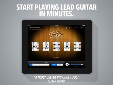 Guitar Jam Tracks - Scale Trainer & Practice Buddy-ipad-0
