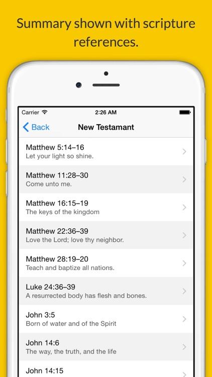 LDS Seminary Scripture Mastery