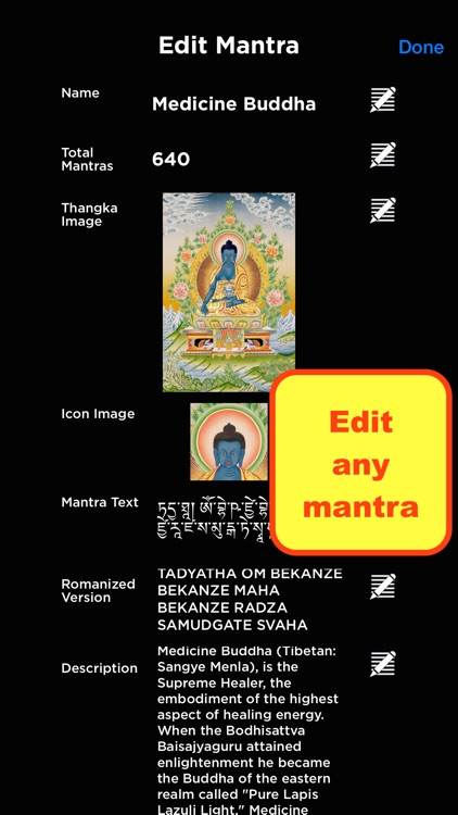 Buddhist Mantra Mala screenshot-3