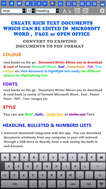 GoodWriter 4 - Documents, Hand-Written Notes and PDF screenshot-1