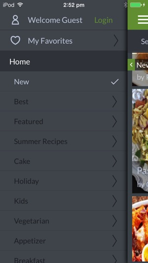 Italian recipes by ifood tv on the App Store