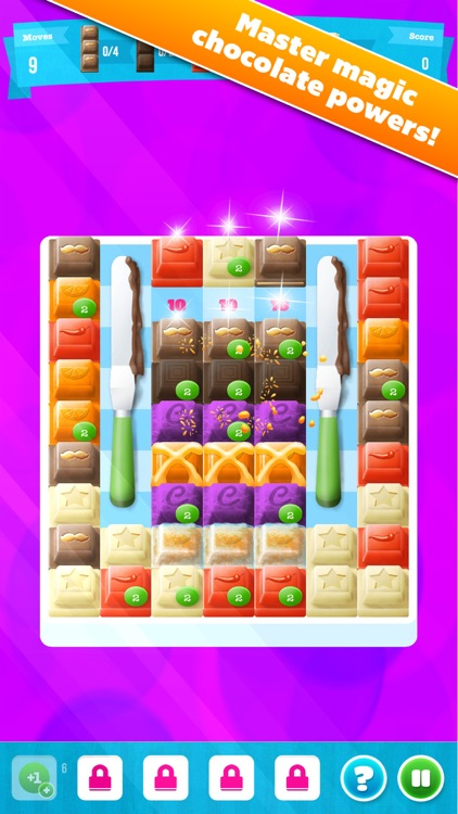 Choco Blocks Free by Mediaflex Games screenshot-0